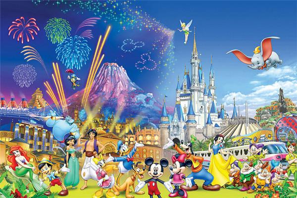 主题公园,而是电影及网络业务营收占44%,迪尼斯乐园度假村占30.