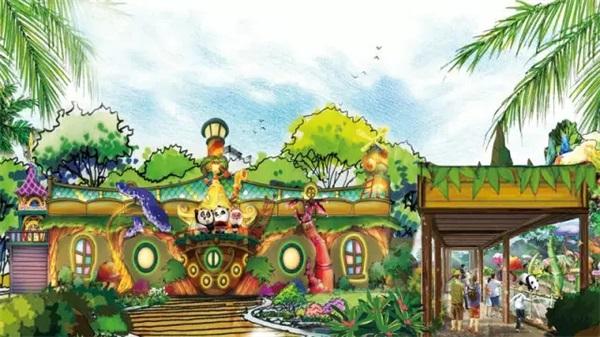 走进这个超现实还原的 熊猫乐园里,不仅能和可爱的大熊猫三
