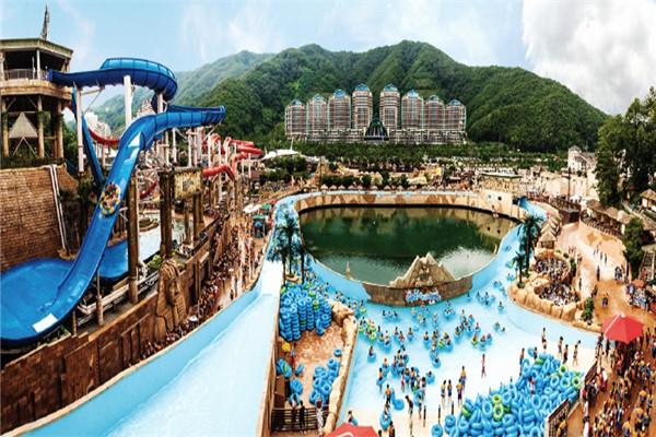 荆州海洋世界水上乐园本月底正式开园