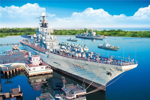 天津泰达图纸主题公园荣膺青少年国防教育基地航母cad按键图片