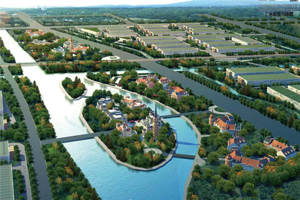 此外,汽车小镇将完成配套变电所,综合管廊,海绵城市设计和建设,完成